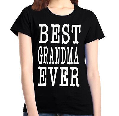 Best Grandma Ever Women's T-Shirt Mother's Day Grandmother Grammy Nana