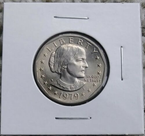 Susan B Anthony 1979 D Dollar Coin Uncirculated BU Denver SBA