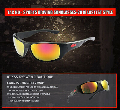 Tac HD+ Fashion Sunglasses for Men Cycling Driving Sports Sun (Glasses For Fashion)