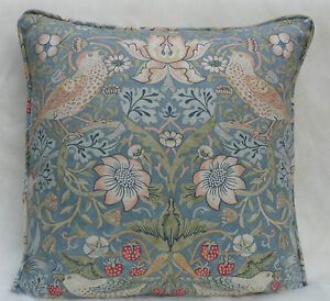 William-Morris-Fabric-Cushion-Cover-Strawberry-Thief-100-Cotton-COT2288-14