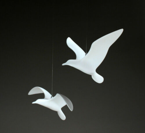 2 SEAGULL MOBILE by JOHN PERRY 9in wingspan each New direct from the studio