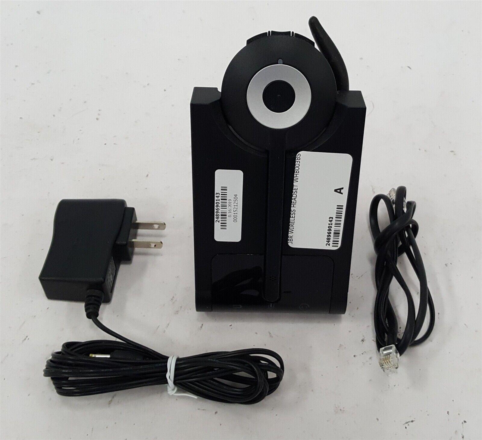 Jabra Pro 920 Mono Headset W Cradle Whb003bs Ac Adapter Ear Hook Ebay