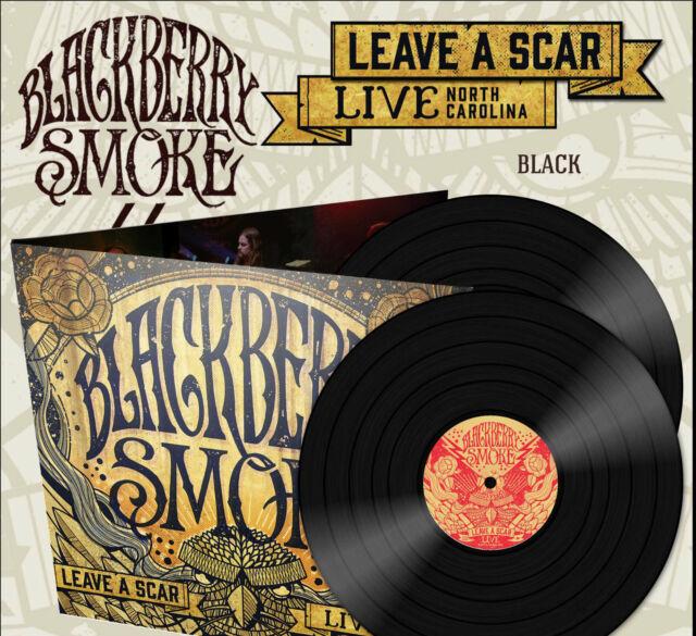 "Blackberry Smoke ""Leave A Scar Live In North Carolina"" 5.1x30.5cm"