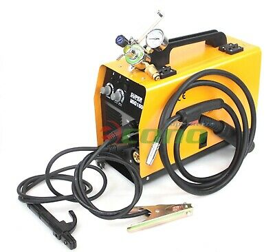Multi Function Mig Gas Flux Mma Arc Stick Welder Welding Machine Argon Gauge