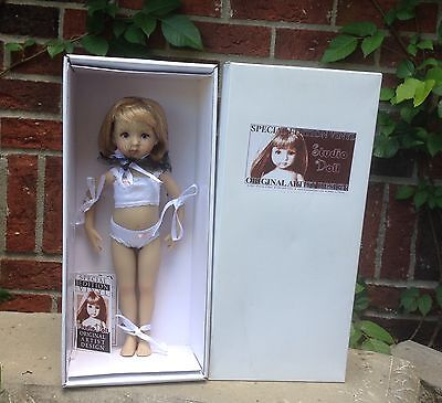 "13"" Little Darling Vinyl Studio Doll Sculpt #1 Blnd/Blue Signed By Dianna Effner"