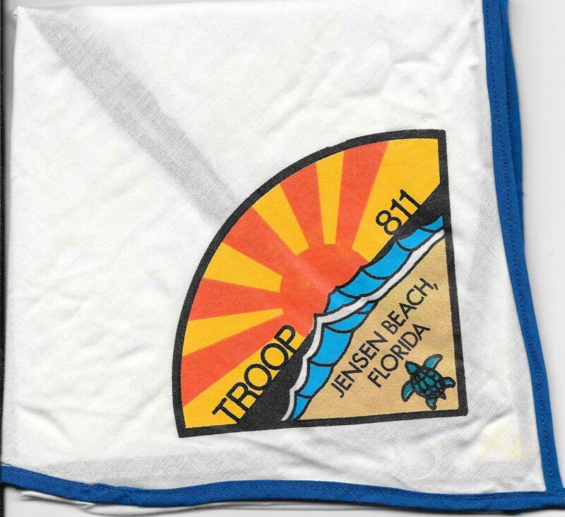 Jensen Beach Florida Troop 811 Neckerchief Boy Scouts of America BSA
