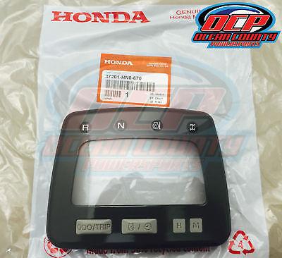 HONDA OEM UPPER SPEEDOMETER CASE RANCHER/FOREMAN TRX400, TRX450 37201-HN0-670