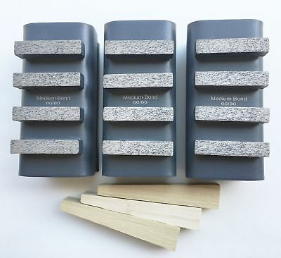 New 6pk 6080 Grit Diamond Grinding Block For Edcostowhusq.gen. Grinders