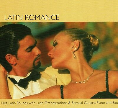 Latin Dance Romance Music CD Spanish Guitar Sax Piano Sexy Salsa Tango Romantic