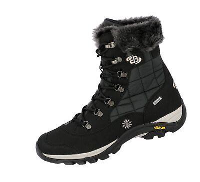 Brütting Himalaya Winterstiefel Damen Outdoor Stiefel Boots schwarz