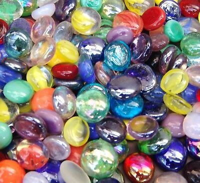Glass Vase Fillers (Creative Stuff Glass - Vase Fillers - Glass Gems - Aquarium Rocks Gravel)