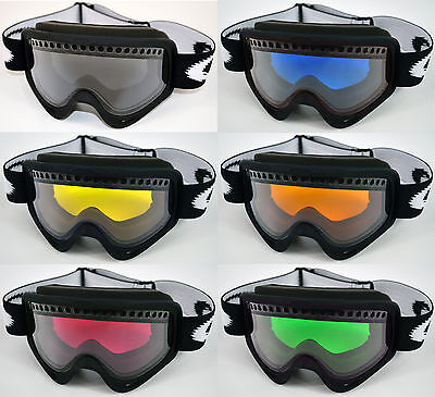 GOGGLE-SHOP DUAL VENTED TINTED LENS to fit OAKLEY O FRAME SKI SNOWBOARD -