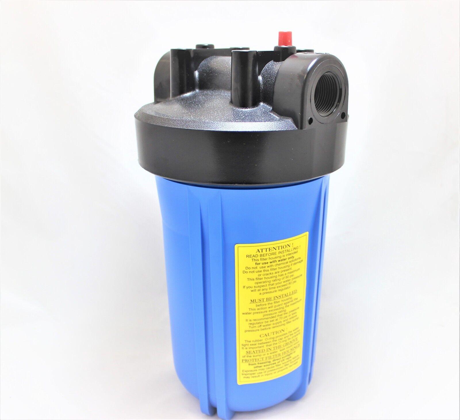 Big Blue Water Filter Housing 10 Quot X 4 5 Quot Pressure Cap