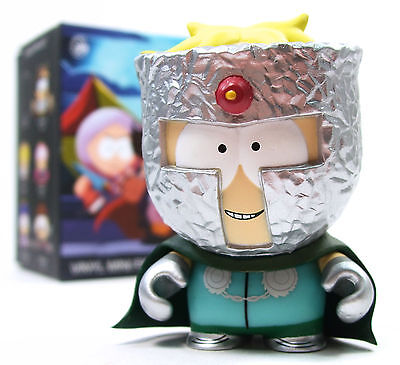 Kidrobot SOUTH PARK FRACTURED BUT WHOLE Mini Series PROFESSOR CHAOS 3quot Figure