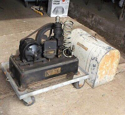 Vintage Kellogg Dental Air Compressor Perfect Hobby Modeling Indoor Air Supply
