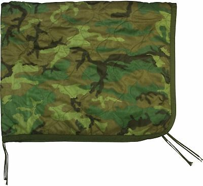 Fox Military Style Nylon Rip-Stop Poncho Liner - 62
