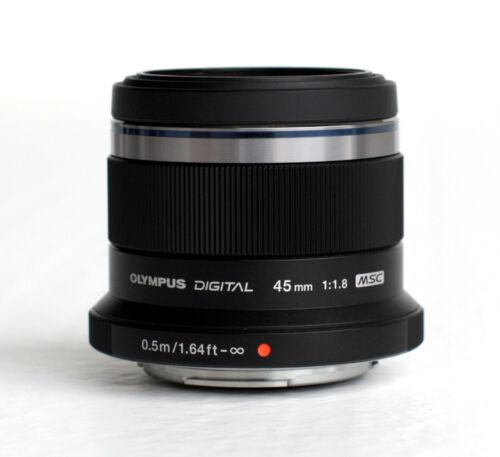 Olympus M.Zuiko 45mm F/1.8 Lens - Black
