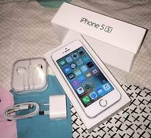 Silver iPhone 5s 16gb (good condition, all accessories) Merrimac Gold Coast City Preview