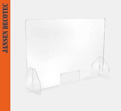 Niesschutz Spuckschutz Schutzsch. Hygieneschutz Thekenaufstatz, Format: 75x50cm