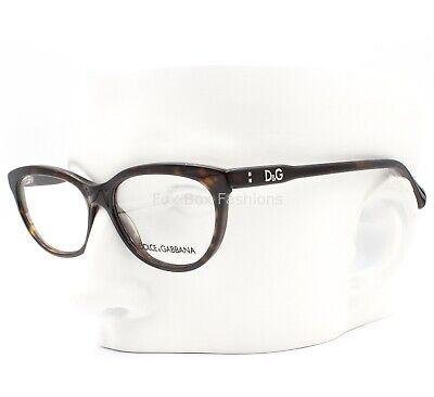 Dolce Gabbana D&G 1245 502 Eyeglasses Frames Glasses Brown Tortoise (D & G Eyeglass Frames)