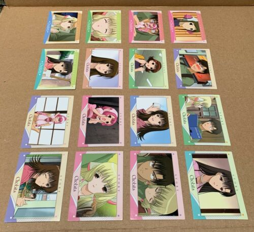 Chobits CLAMP Anime Trading Cards Lot of 16 JAPAN Amada 2002