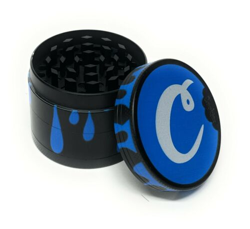 Cookies 2 Inch 4 Piece Tobacco Herb Crusher Grinder US Seller Free Shipping