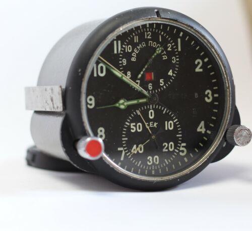 Chronograph ACHS -1. Aviation Panel Watch АЧС-1. Mig-29 Soviet military