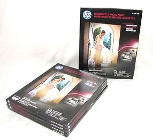 "Hp Premium Plus Photo Paper  8 ½"" X 11"" Soft Gloss Cr671A 125 Sheets"