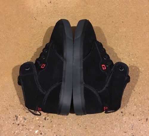 Globe Motley Mid Kids Size 6 US Black Red BMX DC Skate Shoes
