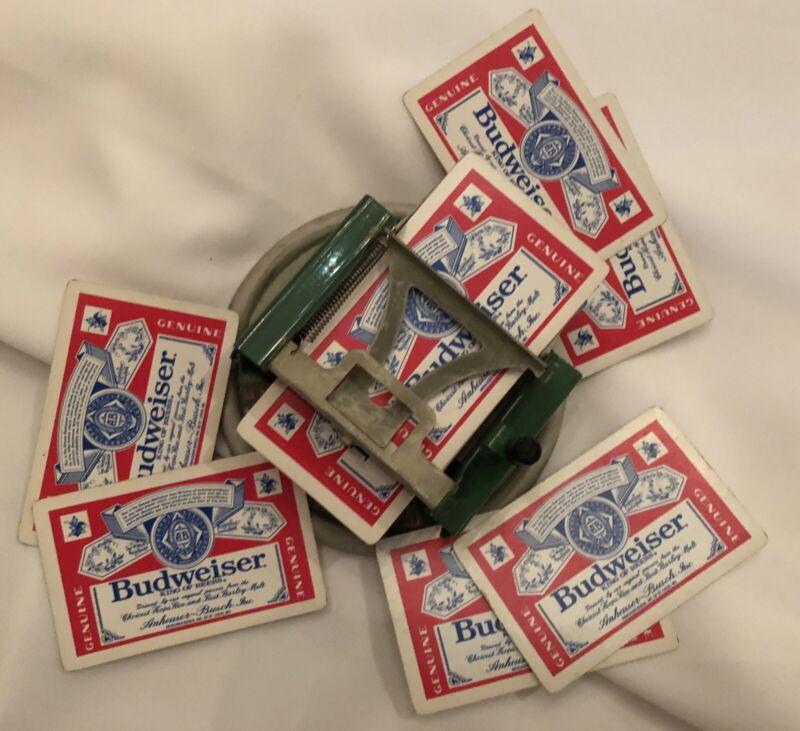 FDR New Deal Century of Progress Card Dealer Shuffler Budweiser Deck Of Cards