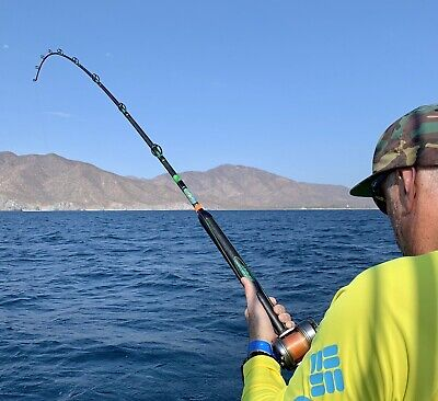 Saltwater Offshore Casting Rod 7' 1PC 30-80 LB Saltwater Fishing Rod