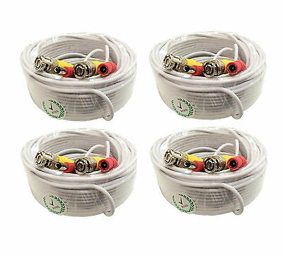 *Premium Quality 4x100Ft Video&Power Cable for Night Owl HD CCTV Security Camera