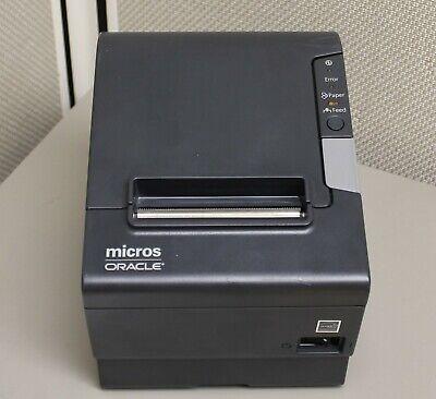 Epson Tm-t88v M244a Receipt Printer W Power Supply Idn Usb Interface Micros