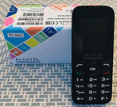 Einfacher und Billiger Handy Alcatel OneTouch 10.16G -Schwarz, Ohne Vertrag, NEU ()