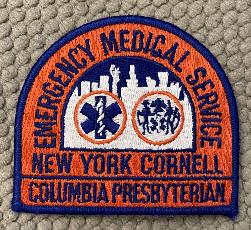"EMS New York Cornell Patch 3"" Sample"