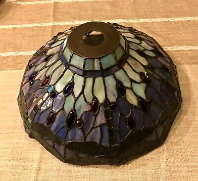 Tiffany Style Lamp Shade Dragonfly Stained Glass Lampshade