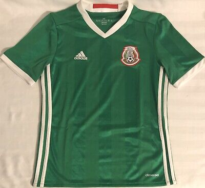 Mexico Youuth Home Soccer Jersey. Youth UNISEX: S.M.L