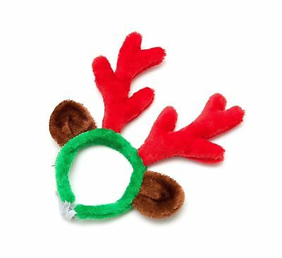 Midlee Christmas Reindeer Antlers with Ears for Large Dogs Free Shipping