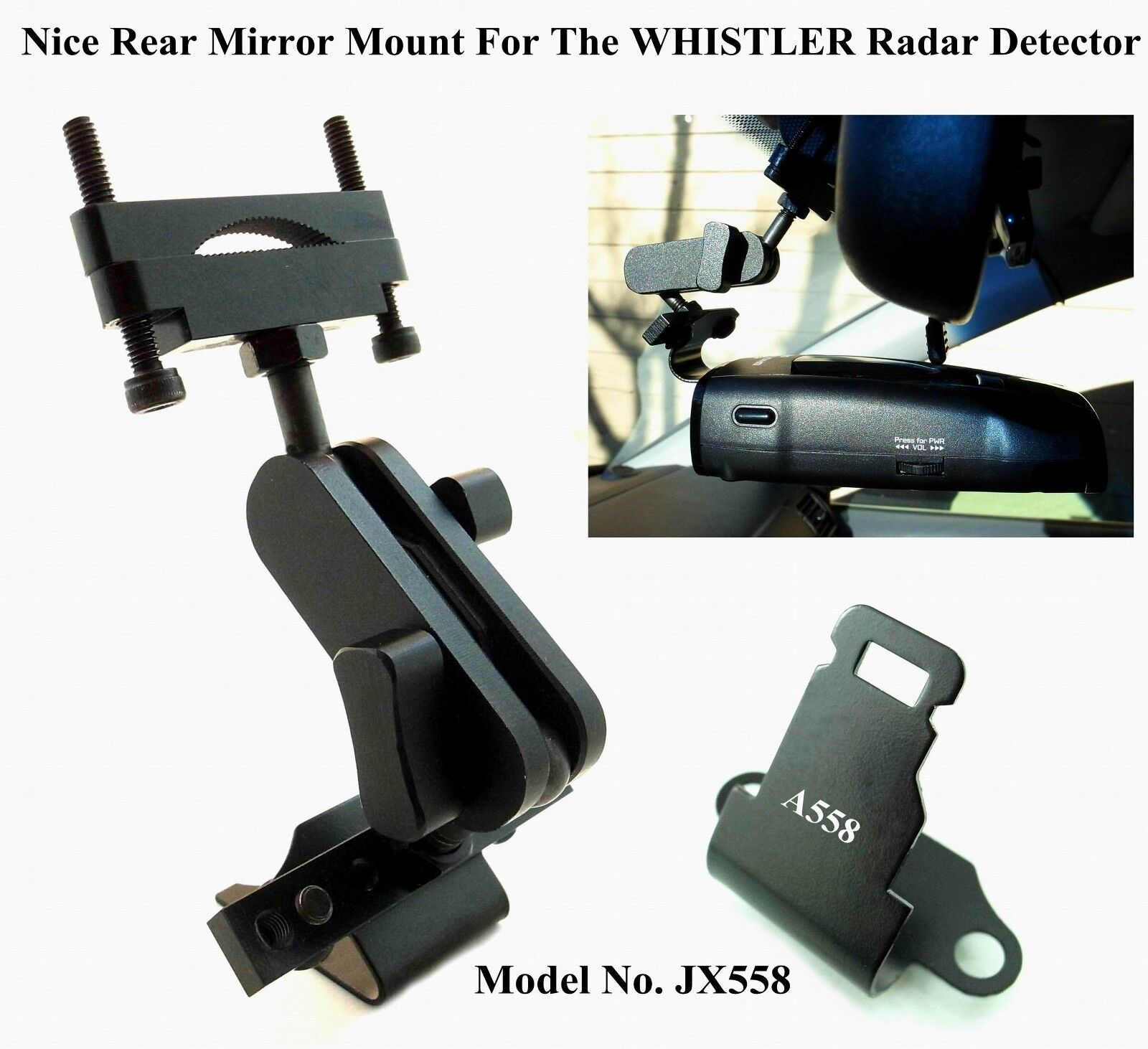 Nice Car Mount For The Whistler Radar Detector All Recent...