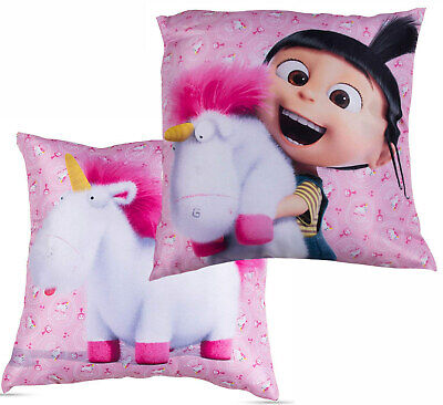 Official Despicable ME Unicorn Agnes Pillow Cushion Girls Toy 16 x 16in