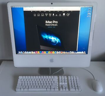 "Apple iMac 24"" (Late 2006) with DESIGN SOFTWARE"
