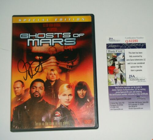 Director John Carpenter Signed Ghost of Mars Special Edition DVD JSA CERT