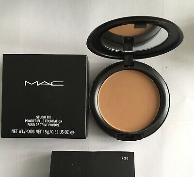 Mac Studio Fix Powder Plus 15g Foundation - NC50 - 🇬🇧
