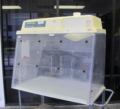 AirClean Systems Custom Enclosure Workstation Fume Hood Model AC215TTE
