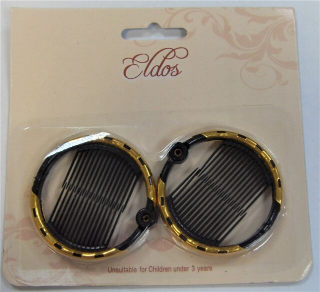 Eldos Hair Ring Comb Medium Hcb016 Colour Black