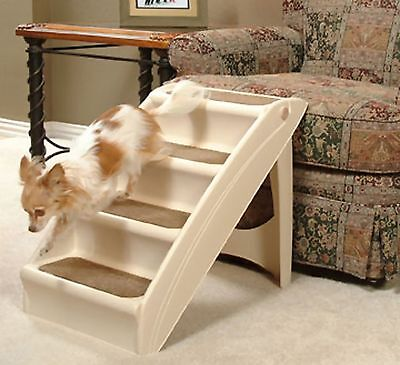 Pet Stairs Gear Pup Step Up Ramp 4 Travel Step Dog Cat La...