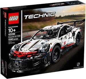 Lego Technic 42096, Preliminary GT Race Car -  Porsche 911 RSR, New Sealed