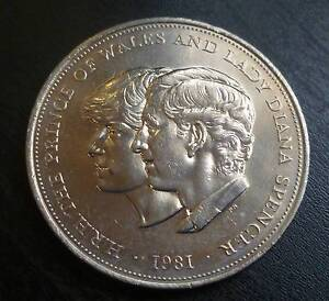 3 Bags, 60 Uncirculated 1981 Charles & Diana Royal Wedding Crowns Noosaville Noosa Area Preview