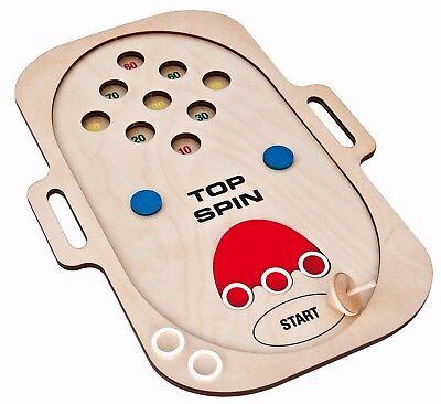 Spin Top Spielzeug (Holzspiel