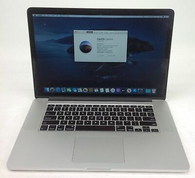 "Apple MacBook Pro 11,3 15"" i7 2.50GHz 16GB 500GB EMC2881 MGXC2LL/A U122370"